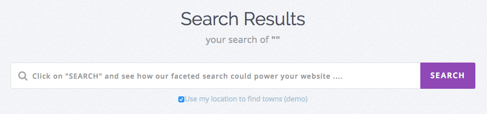 wpsolr geolocation search box with location checkbox