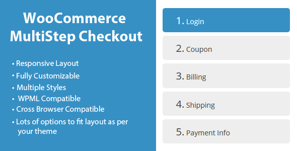 WooCommerce MultiStep Checkout Wizard Premium Addon