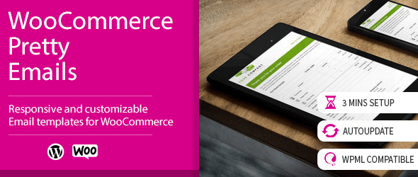 WooCommerce Pretty Emails Premium WordPress Plugin