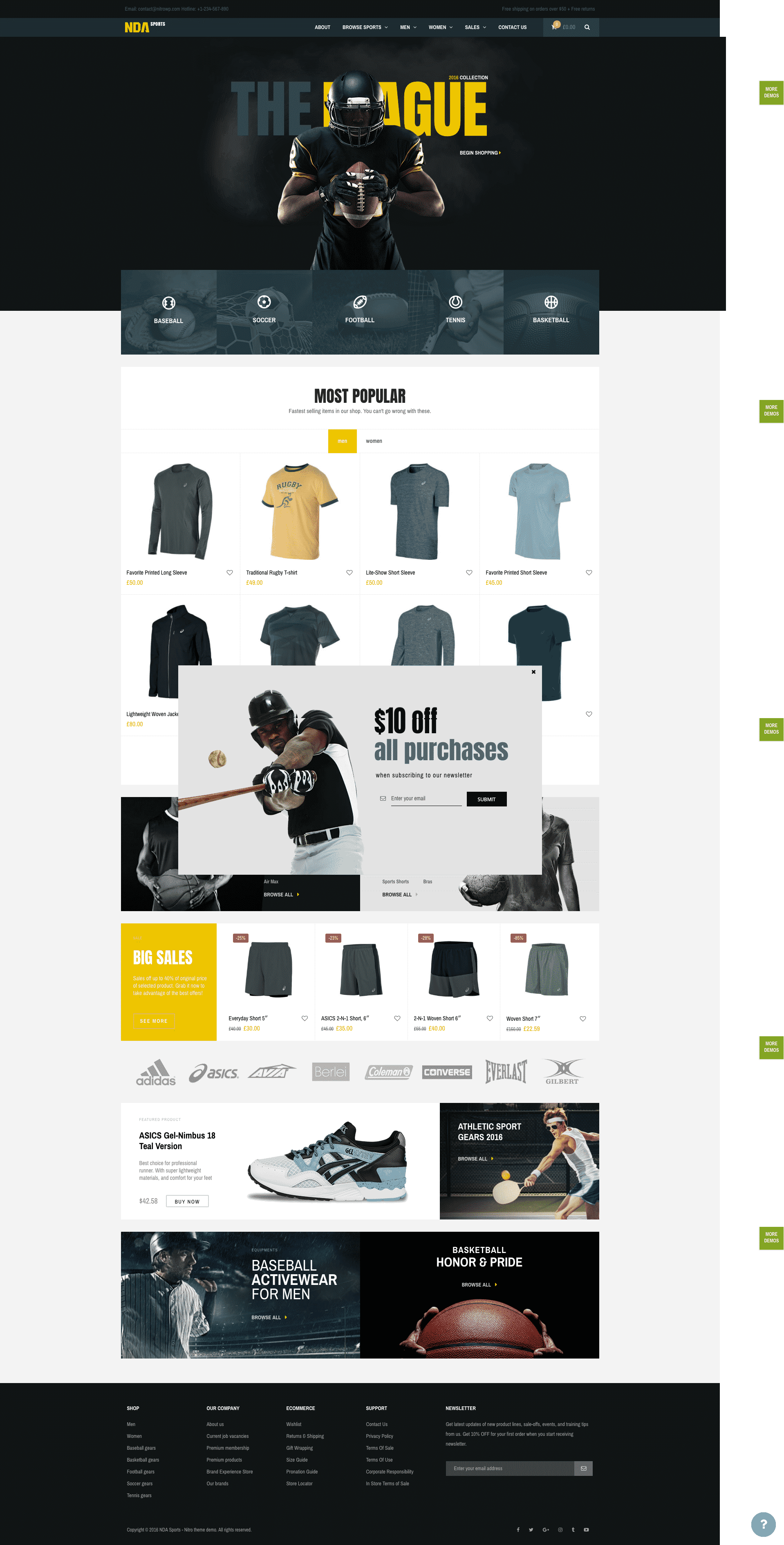 Nitro Woorockets WooCommerce theme
