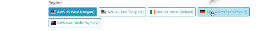 Bonsai Elasticsearch: new cluster AWS region