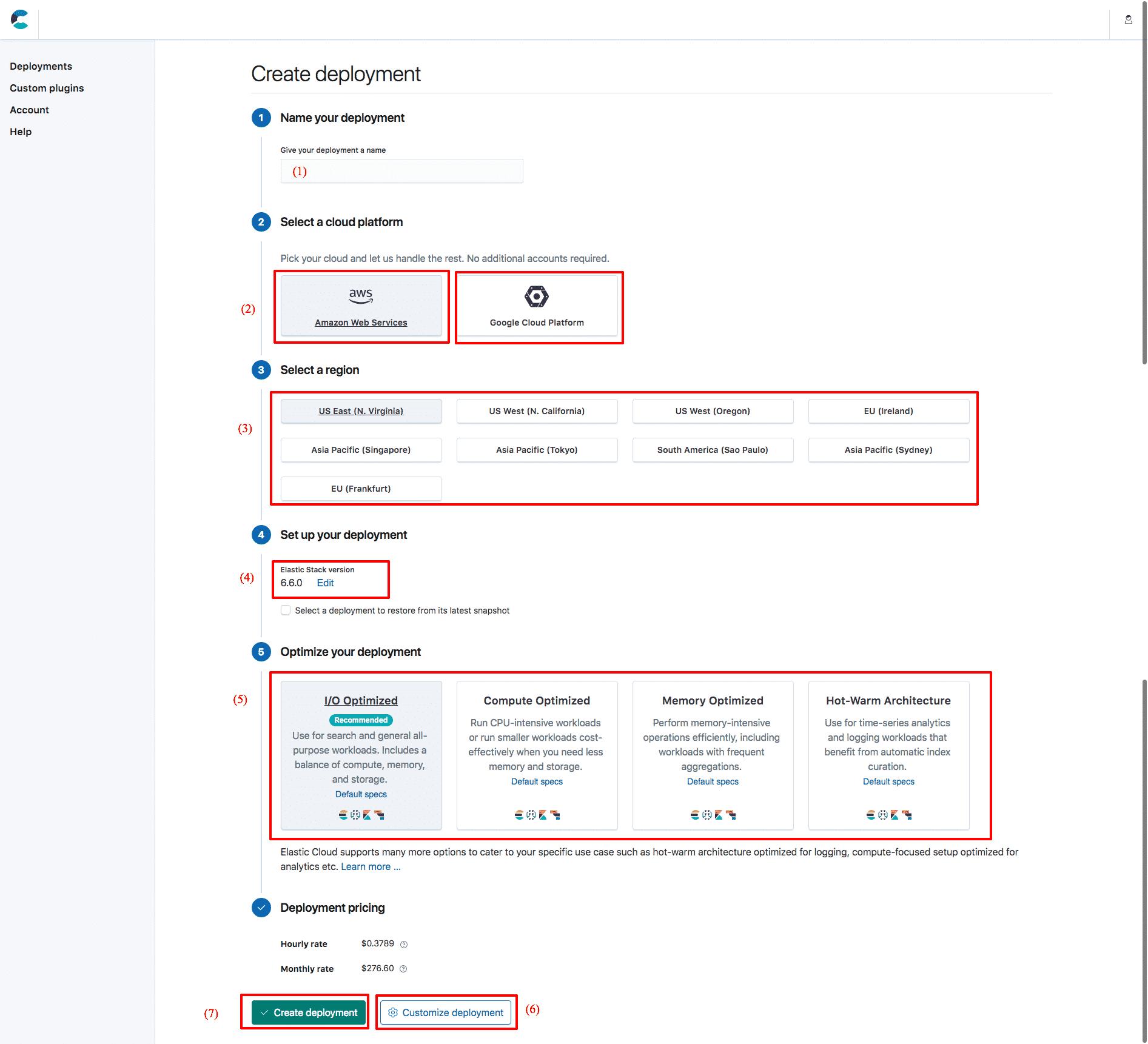 Elastic Elasticsearch: new cluster