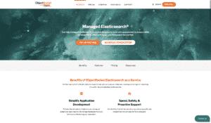 ObjectRocket Elasticsearch: home